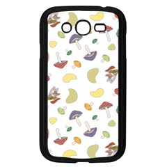 Mushrooms Pattern Samsung Galaxy Grand Duos I9082 Case (black) by Famous