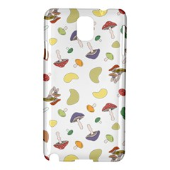 Mushrooms Pattern Samsung Galaxy Note 3 N9005 Hardshell Case by Famous