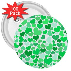 Heart 2014 0914 3  Buttons (100 Pack)  by JAMFoto