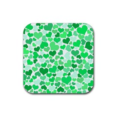 Heart 2014 0914 Rubber Square Coaster (4 Pack)  by JAMFoto