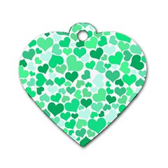 Heart 2014 0915 Dog Tag Heart (one Side) by JAMFoto