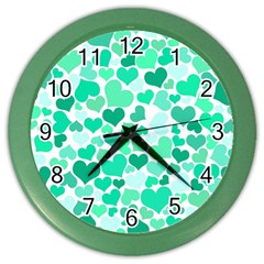 Heart 2014 0916 Color Wall Clocks by JAMFoto