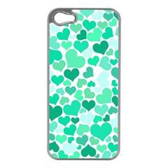 Heart 2014 0916 Apple Iphone 5 Case (silver) by JAMFoto