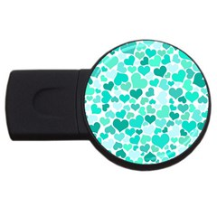 Heart 2014 0917 Usb Flash Drive Round (2 Gb)  by JAMFoto