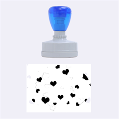 Heart 2014 0921 Rubber Oval Stamps