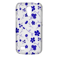 Sweet Shiny Flora Blue Galaxy S4 Mini by ImpressiveMoments