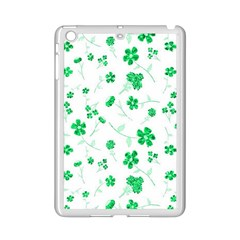 Sweet Shiny Floral Green Ipad Mini 2 Enamel Coated Cases by ImpressiveMoments