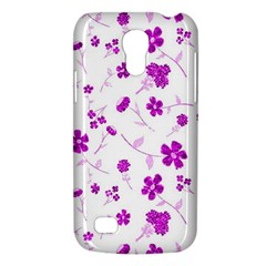 Sweet Shiny Floral Pink Galaxy S4 Mini by ImpressiveMoments