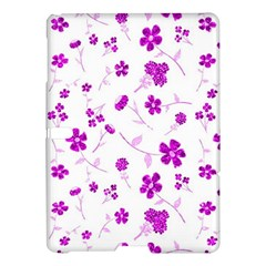 Sweet Shiny Floral Pink Samsung Galaxy Tab S (10.5 ) Hardshell Case  by ImpressiveMoments