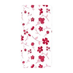 Sweet Shiny Floral Red Samsung Galaxy Alpha Hardshell Back Case by ImpressiveMoments