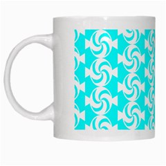 Candy Illustration Pattern White Mugs by creativemom