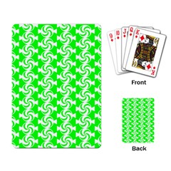 Candy Illustration Pattern Playing Card by creativemom