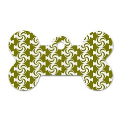 Candy Illustration Pattern Dog Tag Bone (One Side) by creativemom