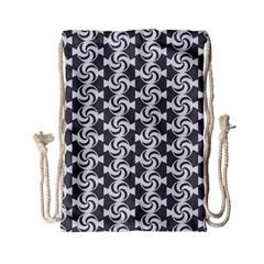 Candy Illustration Pattern Drawstring Bag (small)