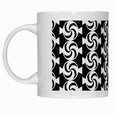Candy Illustration Pattern White Mugs by creativemom