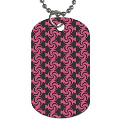 Candy Illustration Pattern Dog Tag (two Sides) by creativemom