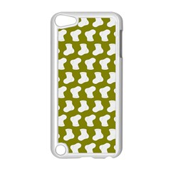 Cute Baby Socks Illustration Pattern Apple Ipod Touch 5 Case (white) by creativemom