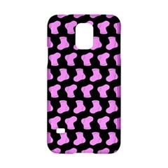 Cute Baby Socks Illustration Pattern Samsung Galaxy S5 Hardshell Case  by creativemom