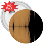 Sunset Black 3  Buttons (100 pack)