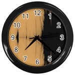 Sunset Black Wall Clocks (Black)