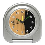 Sunset Black Travel Alarm Clocks