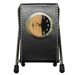 Sunset Black Pen Holder Desk Clocks