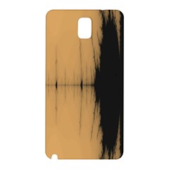 Sunset Black Samsung Galaxy Note 3 N9005 Hardshell Back Case by theunrulyartist