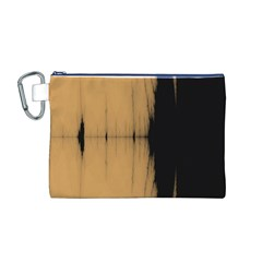 Sunset Black Canvas Cosmetic Bag (m) by theunrulyartist