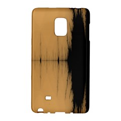 Sunset Black Galaxy Note Edge by digitaldivadesigns