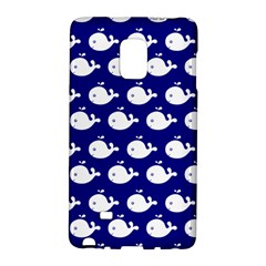 Cute Whale Illustration Pattern Galaxy Note Edge by creativemom