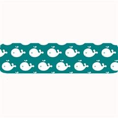 Cute Whale Illustration Pattern Large Bar Mats
