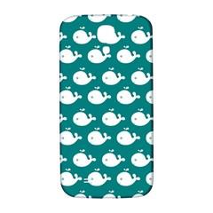 Cute Whale Illustration Pattern Samsung Galaxy S4 I9500/I9505  Hardshell Back Case