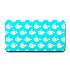 Cute Whale Illustration Pattern Medium Bar Mats by creativemom
