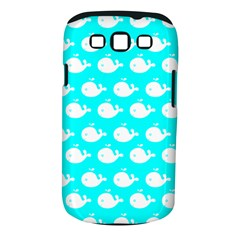 Cute Whale Illustration Pattern Samsung Galaxy S Iii Classic Hardshell Case (pc+silicone) by creativemom