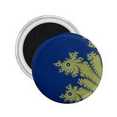Blue And Green Design 2 25  Magnets by theunrulyartist