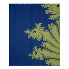 Blue And Green Design Shower Curtain 60  X 72  (medium)  by theunrulyartist