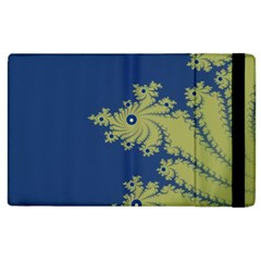Blue And Green Design Apple Ipad 2 Flip Case by theunrulyartist