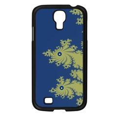 Blue And Green Design Samsung Galaxy S4 I9500/ I9505 Case (black)