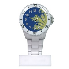 Blue And Green Design Nurses Watches by digitaldivadesigns