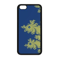 Blue And Green Design Apple Iphone 5c Seamless Case (black) by theunrulyartist