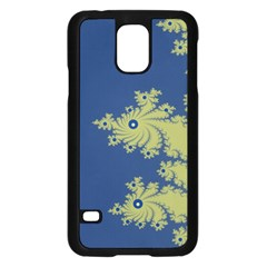 Blue And Green Design Samsung Galaxy S5 Case (black) by theunrulyartist