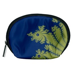 Blue And Green Design Accessory Pouches (medium)  by theunrulyartist