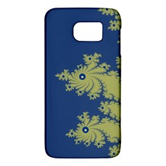 Blue And Green Design Galaxy S6 by theunrulyartist