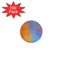 Hot And Cold 1  Mini Buttons (100 Pack)  by theunrulyartist