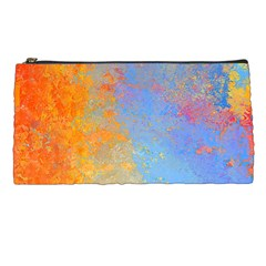 Hot And Cold Pencil Cases by theunrulyartist