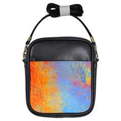 Hot And Cold Girls Sling Bags by theunrulyartist