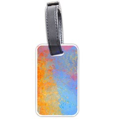 Hot And Cold Luggage Tags (one Side)  by theunrulyartist