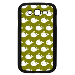 Cute Whale Illustration Pattern Samsung Galaxy Grand Duos I9082 Case (black) by creativemom