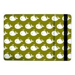 Cute Whale Illustration Pattern Samsung Galaxy Tab Pro 10 1  Flip Case by creativemom