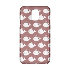 Cute Whale Illustration Pattern Samsung Galaxy S5 Hardshell Case  by creativemom
